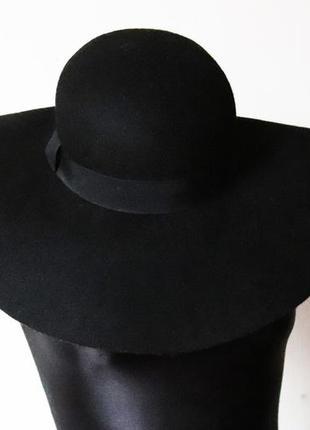 Шляпа h&m 100% шерсть