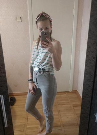 Мои джинс, джинсы с завышенной талией, бойфренды