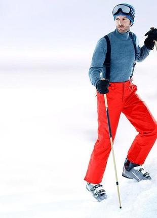 Фирменные лыжные брюки от tcm tchibo.германия.оригинал!
