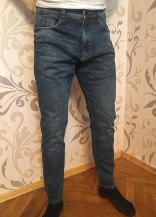 Нові сині джинси skinny