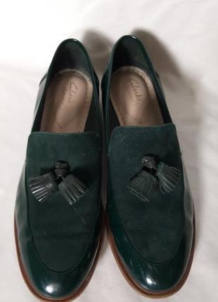 Туфли clarks размер 38