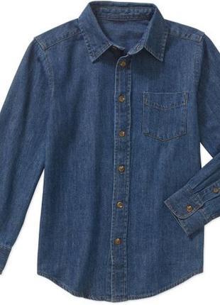 Джинсовая рубашка wrangler р.4-5 лет
