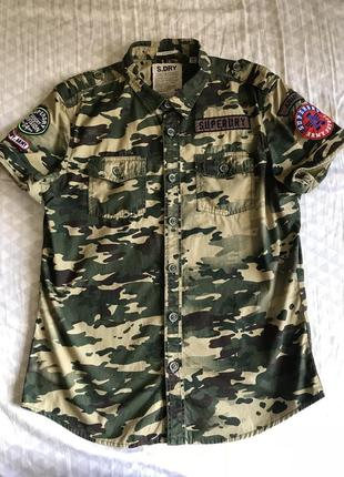 Крутая рубашка superdry
