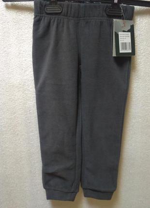 Флисовые штаны оutventure, 104 см