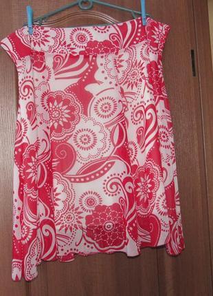 Милая юбка миди р.22 5xl. лучшая цена!