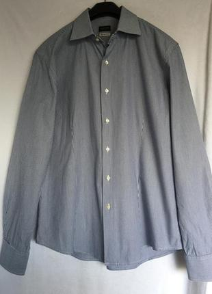 Valentino мужская рубашка сорочка-размер 17/43