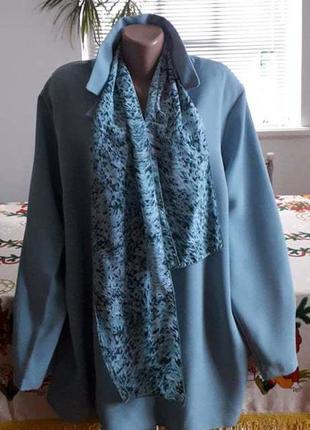 Классная блуза-кардиган. англия.  56-58р