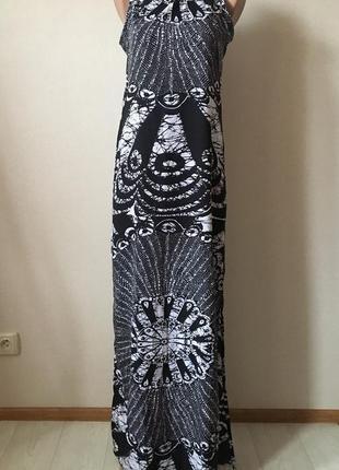 Шикарное легкое платье в пол от boohoo