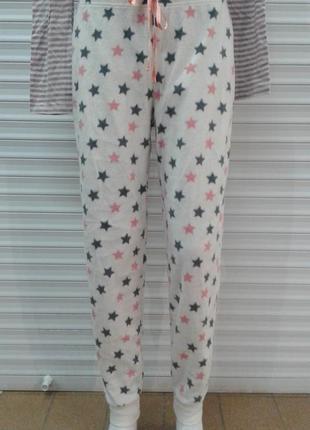 Отличные флисовые домашние штаны george