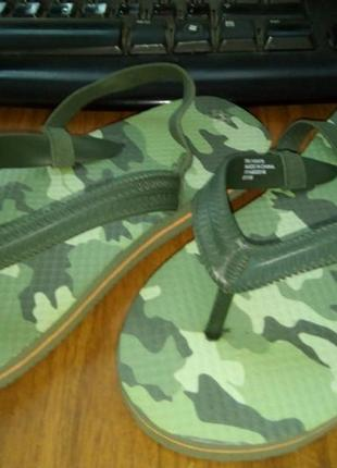 Вьетнамки шлепанцы flip-flops шлепки primark uk 10-11 р.28-29 19,5 см1 фото