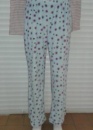 Замечательные теплые домашние штаны