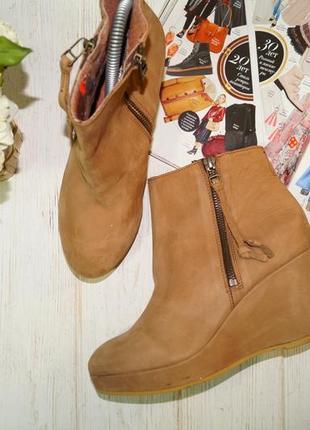 Roots! кожа нубук! стильные ботинки e7c8648246bf6