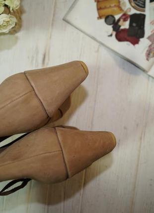 Roots! кожа/нубук! стильные ботинки, полусапожки на удобной танкетке3