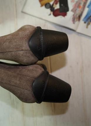 Think! замша! оригинал! фирменные ортопедические полусапожки, ботинки - челси4 фото