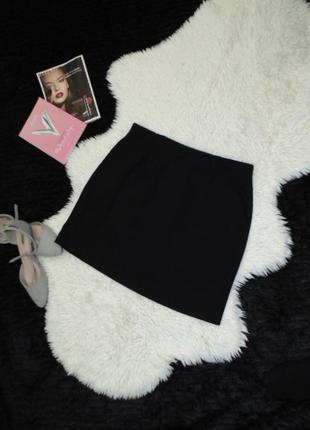Классическая трикотажная юбка 12 размера