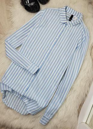 Рубашка в продольную полоску 100% хлопок