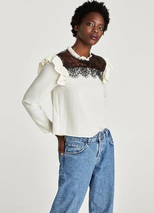 Шикарная блуза , кофта от zara