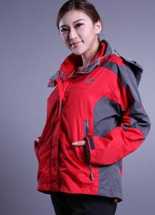 Оригинальная спортивная куртка (ветровка) the north face summit series (унисекс)