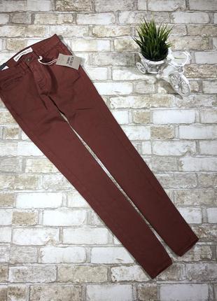 Стильные зауженные джинсы из эластичного денима new look skinny stretch, р. 28/32