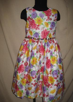 Красивое платье american princess 8л