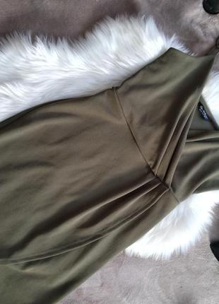 Платье на запах miss selfridge
