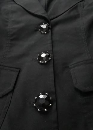 Пиджак с красивыми пуговицами