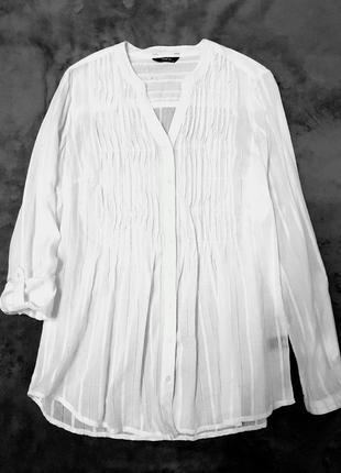 Max&co max mara рубашка блуза блузка хлопок белая