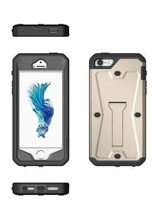 Чехол supcase противоударный для iphone 6 6s 7 8 plus защита экрана и подставка