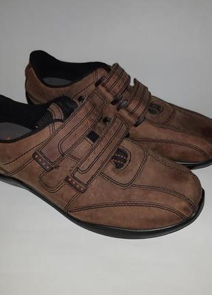 Кожаные туфли, кроссовки hotter uk 8 eu 42 стелька 27 см