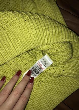 Безумно красивый свитер от marks&spencer большого размера ⭐️2