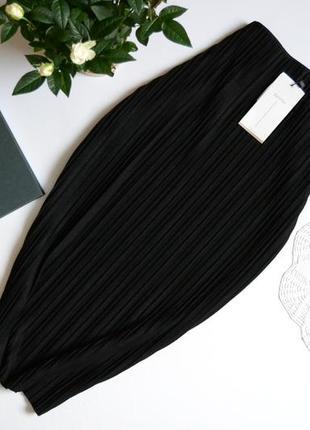 Bershka юбка футляр міді фактурна