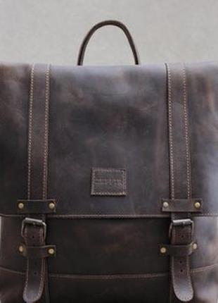 Кожаный рюкзак lumax