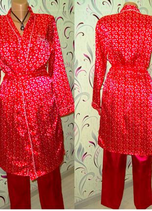 Комплект домашней одежды халат и штанишки