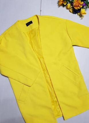Шакарное пальто - жакет размер 36 mohito