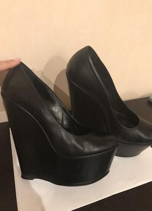 Кожаные туфли gianmarco lorenzi
