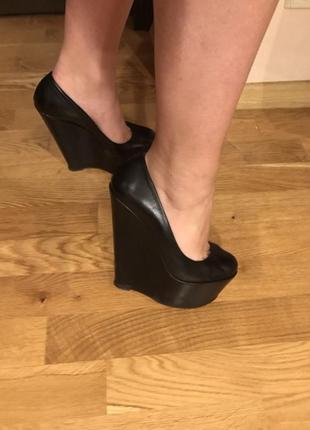 Кожаные туфли gianmarco lorenzi5