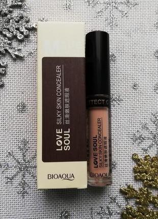 Консилер для лица bioaqua silky skin concealer, тон tender skin tone, 1 шт