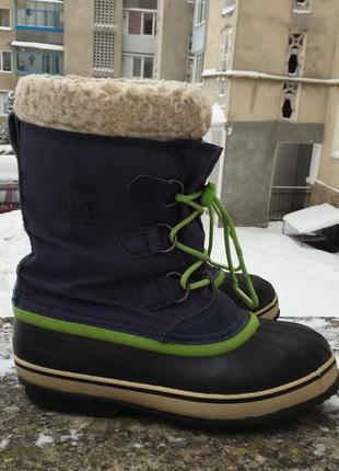 Оригинальные термо ботинки, снегоходы sorel