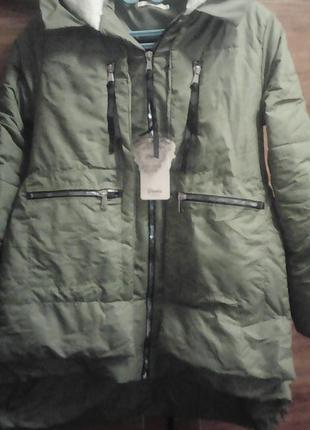 Новая куртка аляска дешево 54 р распродажа.