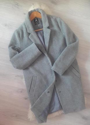 Новое шерстяное пальто boyfriend