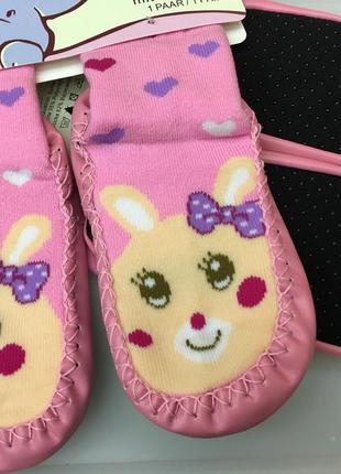 Носки - чешки махровые антискользящие на ногу 14-16 см4