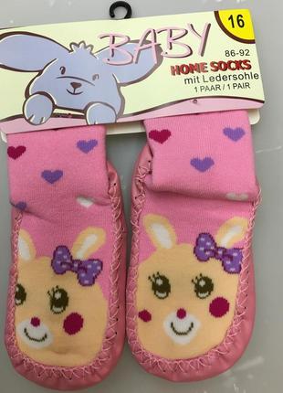 Носки - чешки махровые антискользящие на ногу 14-16 см5