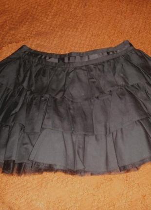 Пышная юбка с оборками, asos