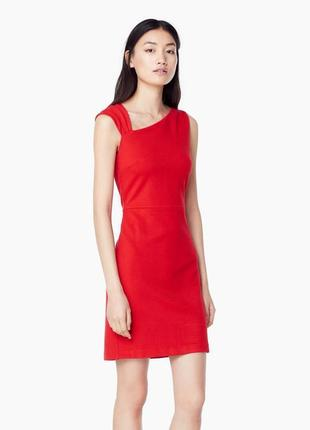 Червона елегантна\базова сукня mango\базовое платье