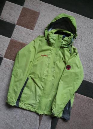 Оригинальная  куртка mammut с молнией для подклада