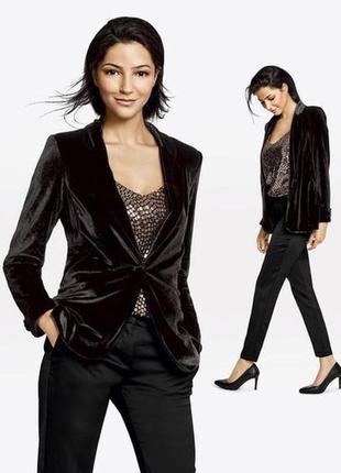 Esmarabyheidiklum стильный дизайнерский пиджак блейзер 40р
