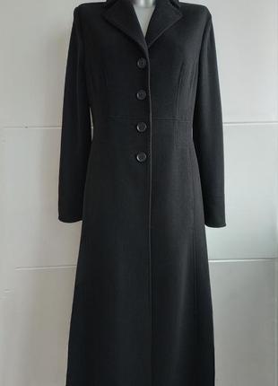 Шикарное пальто бренда премиум класса autograph marks&spencer классического кроя