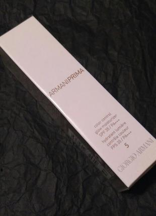 Cc-крем giorgio armani armani prima cc cream №5 - tan with cool undertone