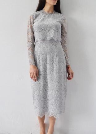 Кружевное платье (новое, с биркой) coast