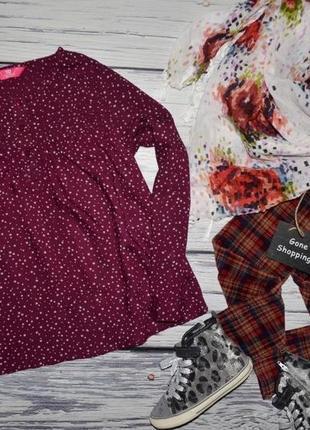 11 - 12 лет 152 см рубашка блузка блуза для модниц легкая натуральная звездочки